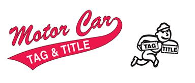 Motor Car Tag & Title